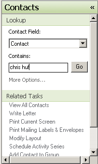 ACT-Contact-Lookup