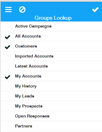 Infor_Mobile_3.2_Account_Group_selection_option