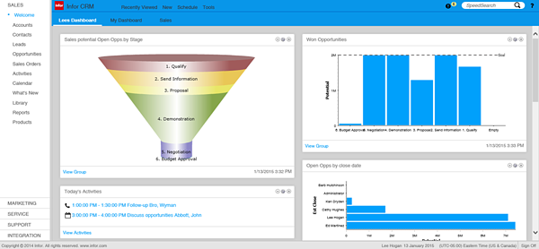 Infor_CRM_8.1_v05_Dashboard_view