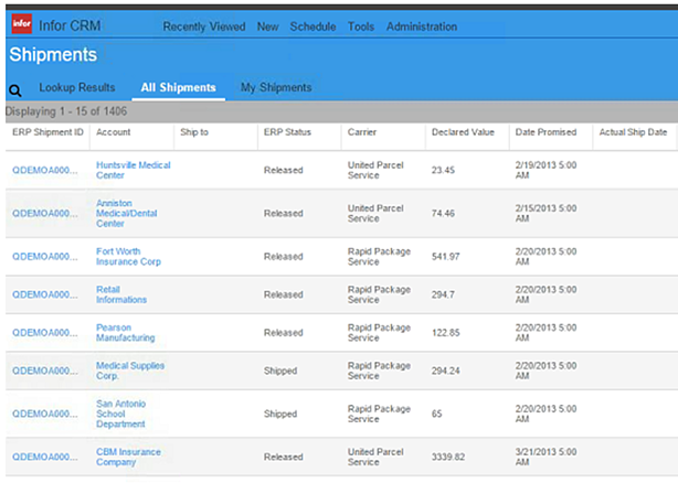 Infor_CRM_Shipments_from_ERP_integration