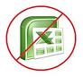 Discontinue using Excel in meetings