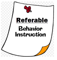 Referable-Behavior-Instructions