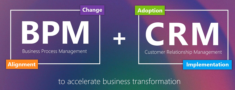 BPM and CRM to accelerate business transformation