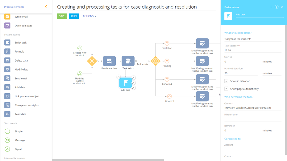 Creating and processing task for case diagnostic and resolution.png