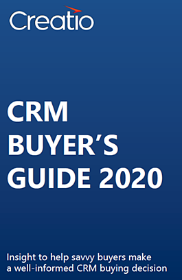 CRM Buyers Guide 2020 - Creatio