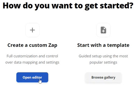 Getting Started with a Custom Zapp