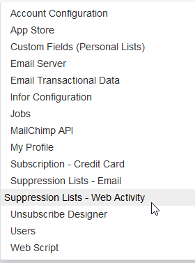 Supression Lists - Web Activity.png