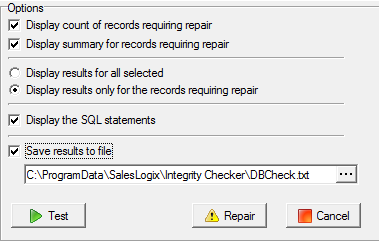 Saleslogix-Integrity-checker-Options-recommended.png