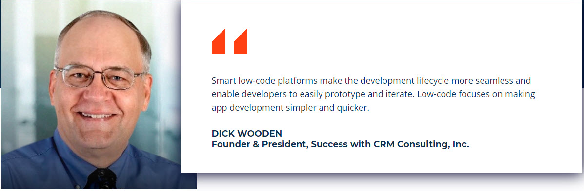 Dick Wooden low-code quote