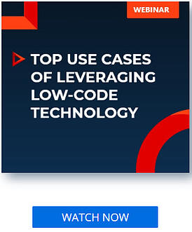 Webinar top use cases of leveraging low-code technology