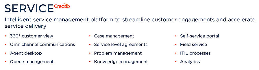 Service-Creatio-Main-Capabilities-Success-With-CRM