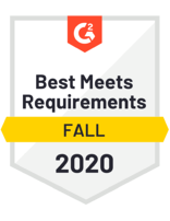 StarfishETL Fall 2020 G2 badge_Best Meets Requirements