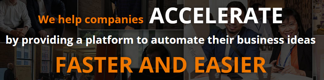 We help companies accelerate-theme message