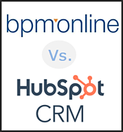 bpm online vs HubSpot Sales