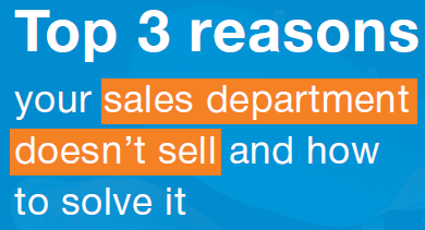Cover-Top 3 reasons sales dept doesnt sell