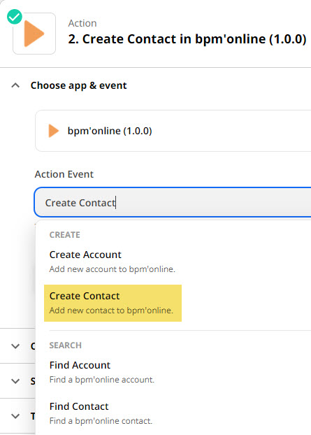 create a contact in bmp online trigger-1