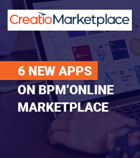 bpmonline marketplace 6 new apps