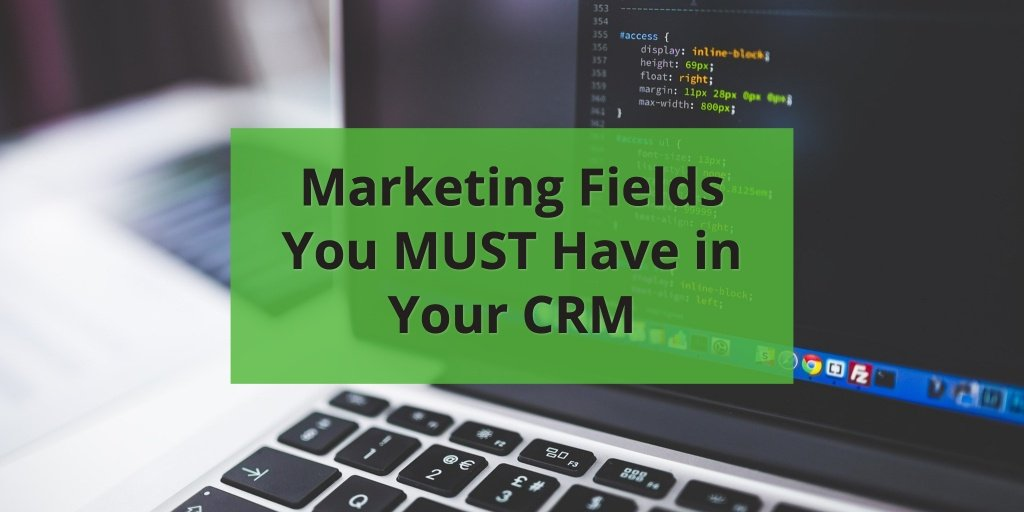 SWCRM Marketing Fields Blog Post